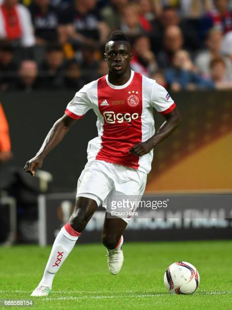 Davinson Sanchez of Ajax in action during the UEFA Europa League final match between Ajax and Manchester United at Friends Arena on May 24 2017 in...