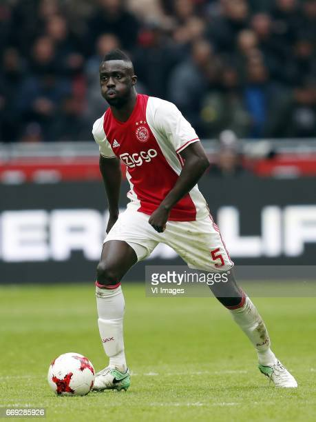 Davinson Sanchez of Ajaxduring the Dutch Eredivisie match between Ajax Amsterdam and sc Heerenveen at the Amsterdam Arena on April 16 2017 in...