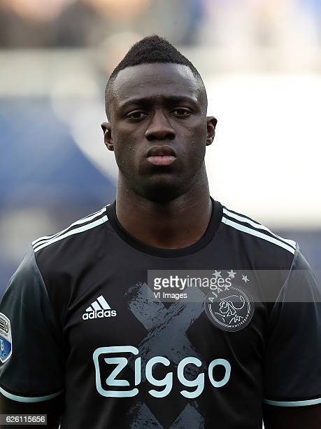 Davinson Sanchez of Ajaxduring the Dutch Eredivisie match between sc Heerenveen and Ajax Amsterdam at Abe Lenstra Stadium on November 27 2016 in...