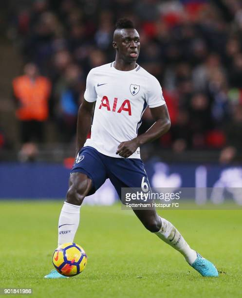 Davinson Sanchez of Totteham Hotspur during the Premier League match between Tottenham Hotspur and West Ham United at Wembley Stadium on January 4...