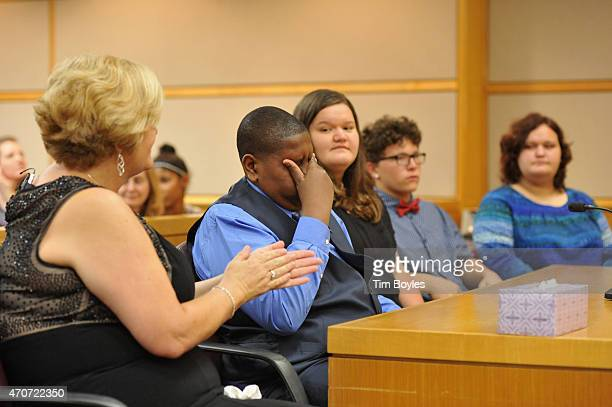 Davion Navar Henry Only reacts with his adoptive mother and former caseworker Connie Going and new siblings Carley Going Taylor Going and Sydney...