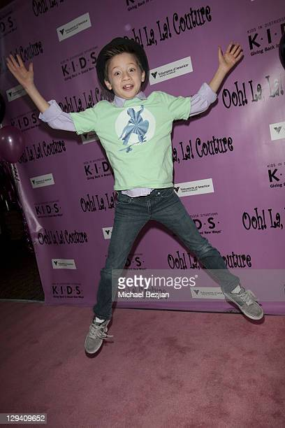 Davis Cleveland attends Kids In Distressed Situations Benefit Hosted By Bella Thorne And OohLaLa Couture on February 12, 2011 in Los Angeles,...