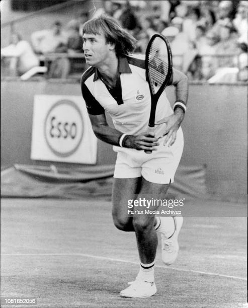 Davis Cup at White City Alexander versus McEnroo October 06 1979