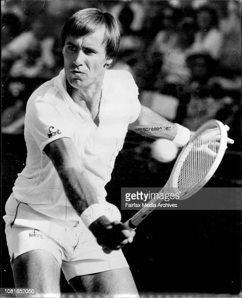 Davis Cup at White City singlesJohn Alexander defeated C Barazzatti December 02 1977