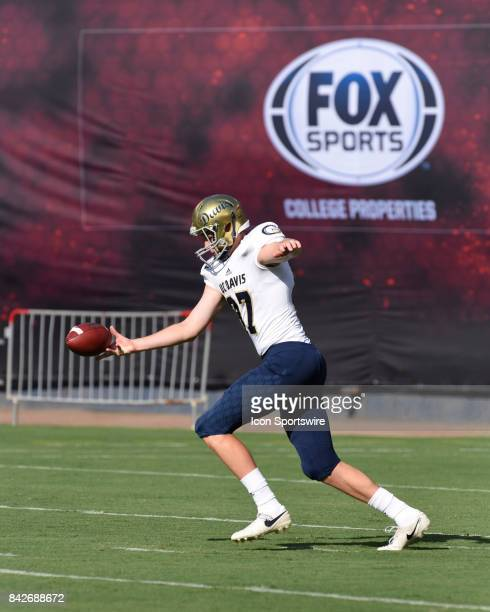 Davis Daniel Whelan during the college football game between UC Davis Aggies and San Diego State University Aztecs on September 02 2017 at Qualcomm...
