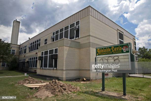 Davis Elementary School June 21 in Washington DC is being renovated to host students from Kimball Elementary which is closing for two years and being...