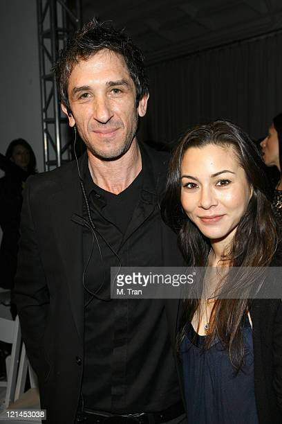 Davis Factor and China Chow during MercedesBenz Fall 2007 LA Fashion Week at Smashbox Studios Juan Carlos Obando Backstage and Front Row at Smashbox...