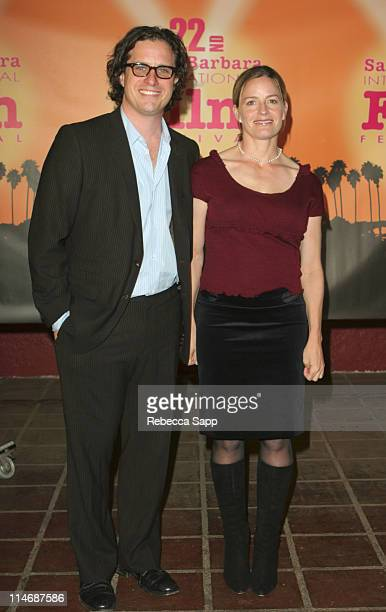 Davis Guggenheim and Elisabeth Shue during 22nd Annual Santa Barbara International Film Festival Al Gore and Davis Guggenheim Honored with the...