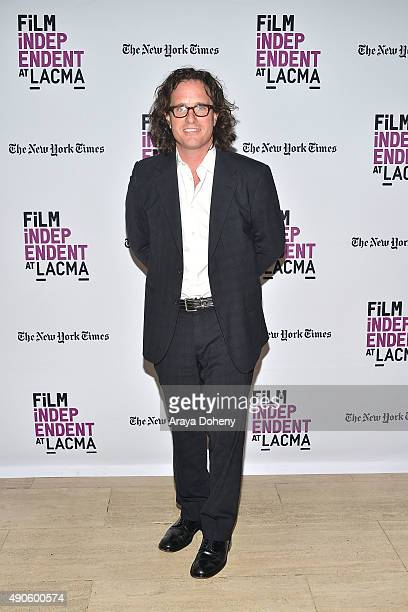 Davis Guggenheim attends the Film Independent at LACMA screening and QA of He Named Me Malala at Bing Theatre At LACMA on September 29 2015 in Los...