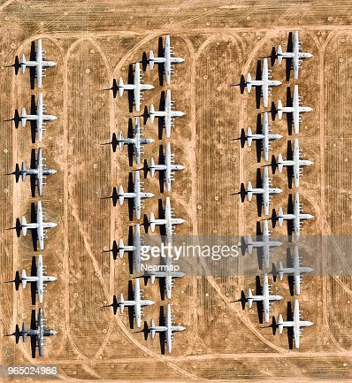Davis-Monthan AFB, Tucson, AZ, largest aircraft boneyard in the world