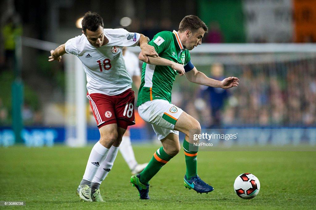Republic of Ireland v Georgia - FIFA 2018 World Cup Qualifier : News Photo