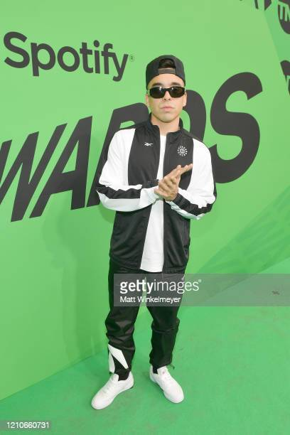 Davo attends the 2020 Spotify Awards at the Auditorio Nacional on March 05 2020 in Mexico City Mexico
