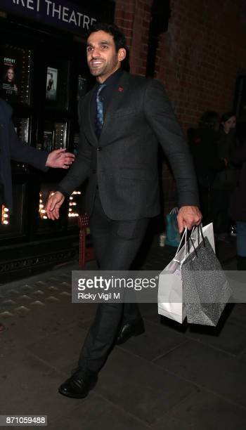 Davood Ghadami attend the Inside Soap Awards held at The Hippodrome on November 6 2017 in London England