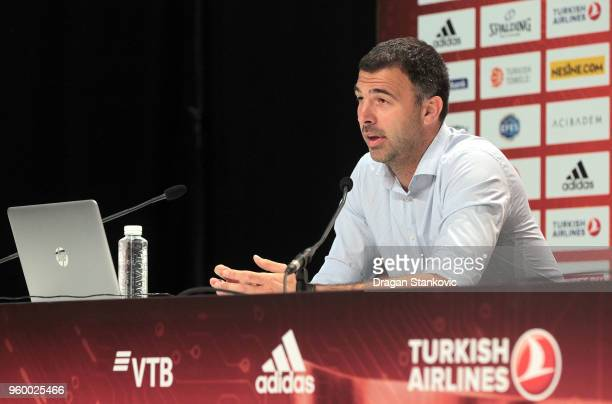 Davor Ristovic Crvena Zvezda mts Belgrade General Manager during the 2018 Turkish Airlines EuroLeague F4 Sports Business MBA at Stark Arena on May 19...