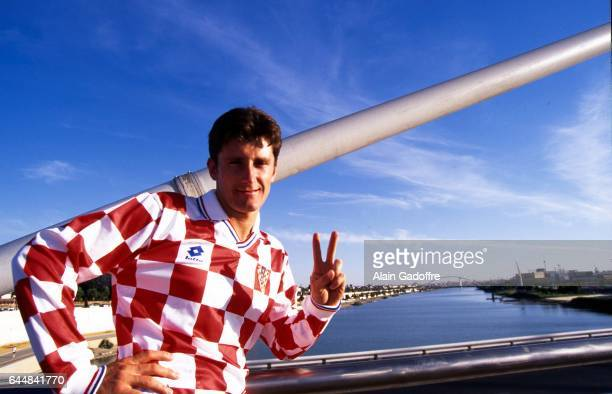 Davor SUKER Reportage Magazine Croatie Photo Alain Gadoffre / Icon Sport