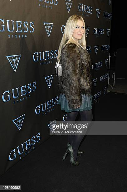 Davorka attends 'Guess Presents Tiesto' at P1 on November 15, 2012 in Munich, Germany.