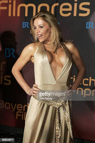 Davorka attends the Bavarian Movie Award at Prinzregententheater on January 15 2010 in Munich Germany