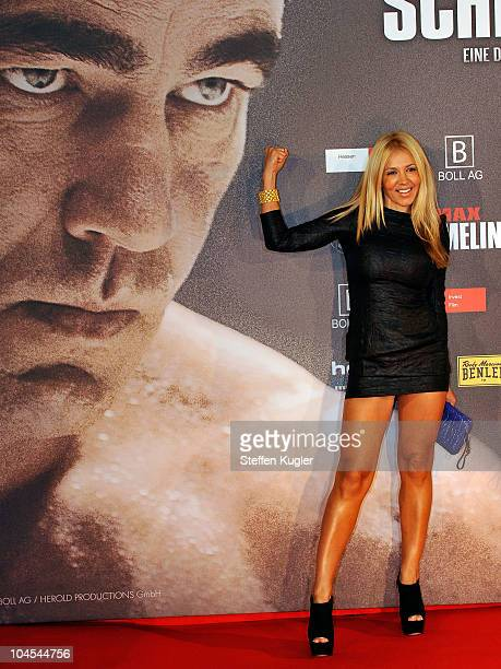 Davorka attends the German Premiere of 'Max Schmeling A German Legend' at Delphi Filmpalast on September 29 2010 in Berlin Germany