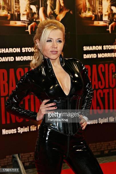 Davorka Tovilo at The Premiere of Basic Instinct 2 in Cinestar in Berlin 220306