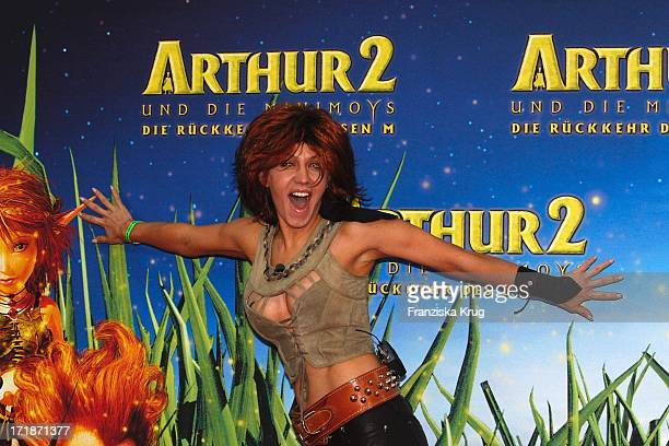 "Davorka Tovilo at the Premiere Of movie ""Arthur And The Invisibles - The Return Of Maltazard"" In the Cinestar Sony Center in Berlin"