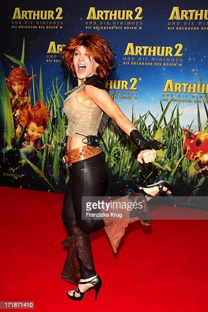 Davorka Tovilo at the Premiere Of movie Arthur And The Invisibles The Return Of Maltazard In the Cinestar Sony Center in Berlin