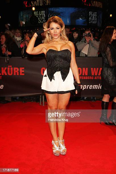 Davorka Tovilo at the Premiere Of 'Valkyrie The Stauffenberg assassination' in the theater at Potsdamer Platz in Berlin