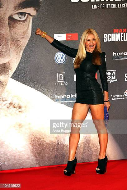 Davorka Tovilo attends the German Premiere of 'Max Schmeling A German Legend' at Delphi Filmpalast on September 29 2010 in Berlin Germany