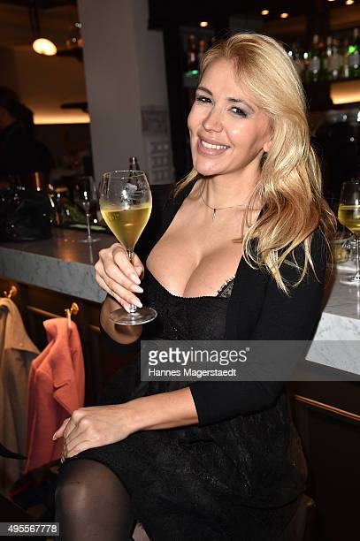 Davorka Tovilo attends the 'Plaza Mayor Restaurant Opening' on November 3 2015 in Munich Germany