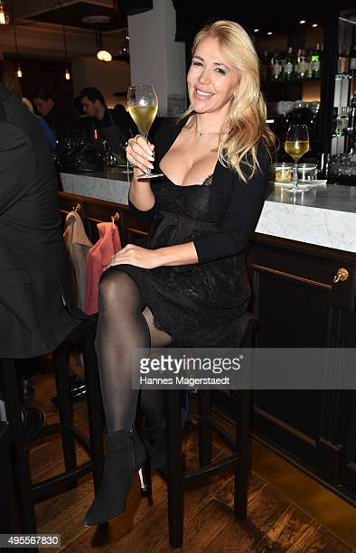 Davorka Tovilo attends the 'Plaza Mayor Restaurant Opening' on November 3, 2015 in Munich, Germany.
