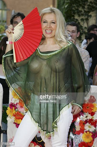 Davorka Tovilo attends the premiere of 'Volver' at Kulturbrauerei Cinema on July 26 2006 in Berlin Germany