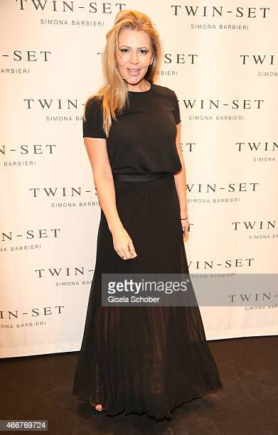 Davorka Tovilo during the TWINSET Simona Barbieri FlagshipStore Opening Event on March 18 2015 in Munich Germany