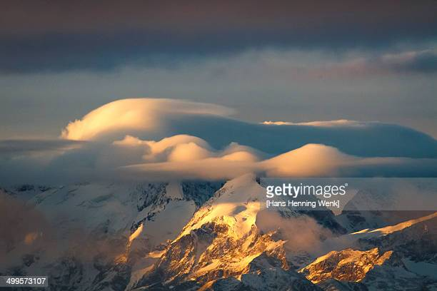 Davos Mountains Sunrise