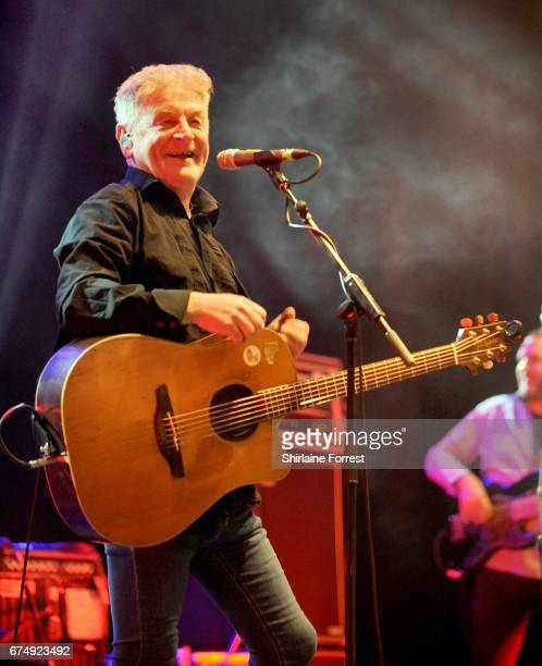 Davy Carton of The Saw Doctors performs at O2 Apollo Manchester on April 29 2017 in Manchester England