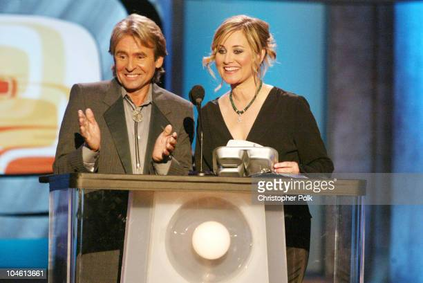 Davy Jones and Maureen McCormick during The TV Land Awards Celebration of Classic TV at Hollywood Palladium in Hollywood CA United States