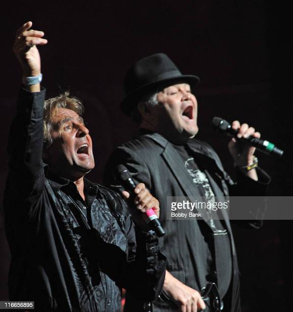 Davy Jones and Micky Dolenz of The Monkees performs at The Beacon Theatre on June 16 2011 in New York City