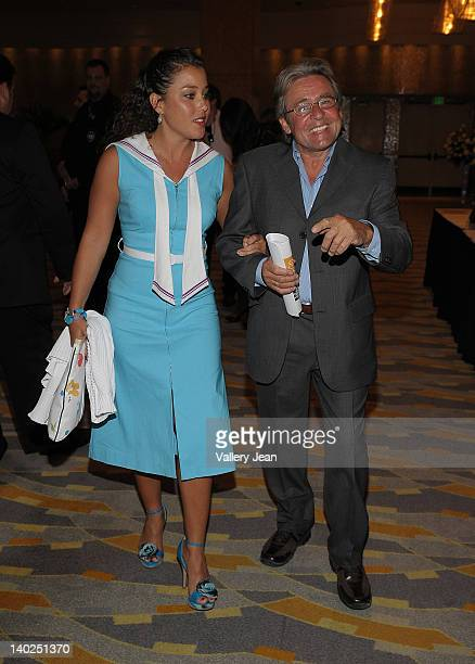 Davy Jones and wife Jessica PachecoJones attend The Classic Gala for Home Safe Benefit at Seminole Hard Rock Hotel on January 25 2009 in Hollywood...