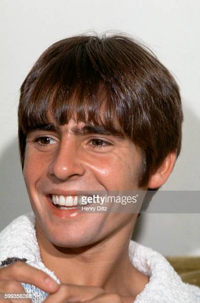 Davy Jones of The Monkees smiles