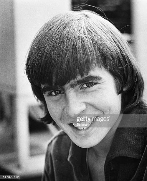 Davy Jones of the music group The Monkees Photograph January 1967