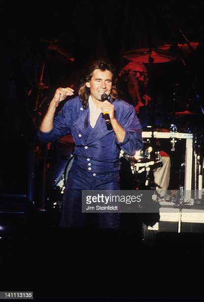 Davy Jones of the rock band the Monkees performs at the Carlton Dinner Theatre in Bloomington Minnesota in August 1986