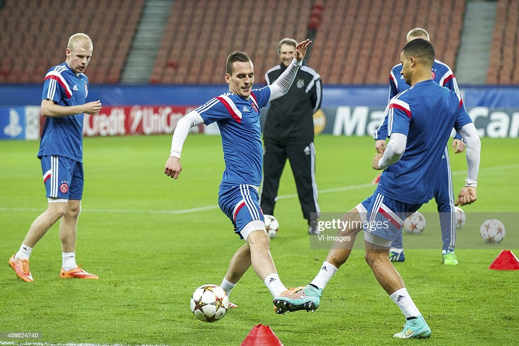 "UEFA Champions League Group F - ""Training session Ajax"" : News Photo"