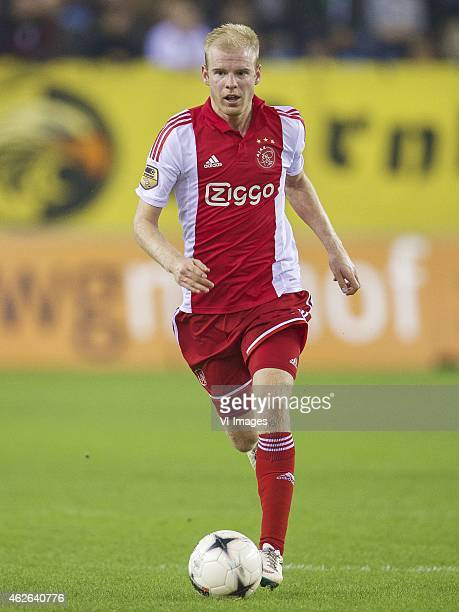 Davy Klaassen of Ajax during the Dutch Eredivisie match between Vitesse and Ajax at the Gelredome on february 1 2015 in Arnhem the Netherlands