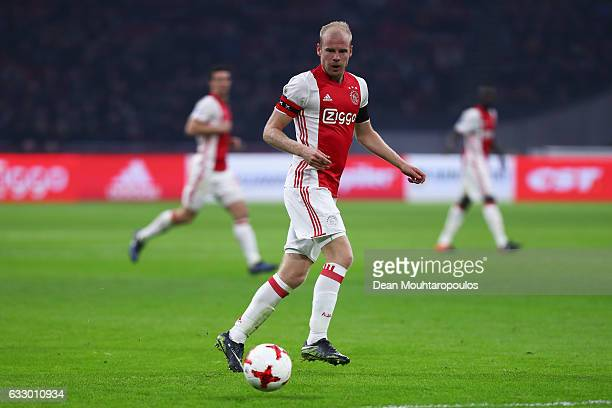 Davy Klaassen of Ajax in action during the Eredivisie match between Ajax Amsterdam and ADO Den Haag held at Amsterdam Arena on January 29 2017 in...