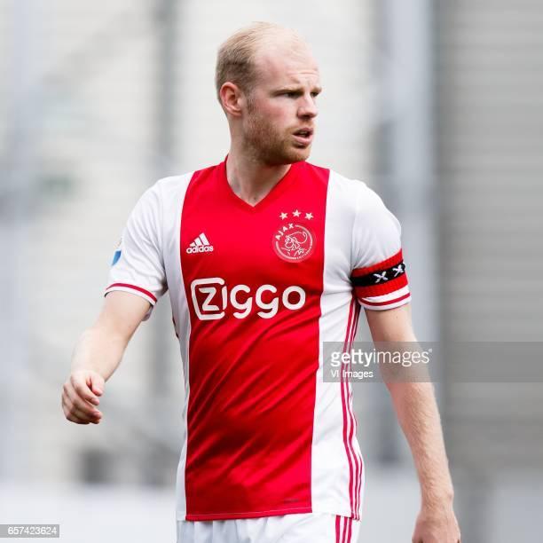 Davy Klaassen of Ajaxduring the Dutch Eredivisie match between sbv Excelsior Rotterdam and Ajax Amsterdam at Woudenstein stadium on March 19 2017 in...