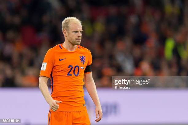 Davy Klaassen of Netherlands looks on during the FIFA 2018 World Cup Qualifier between Netherlands and Sweden at Amsterdam ArenA on October 10 2017...