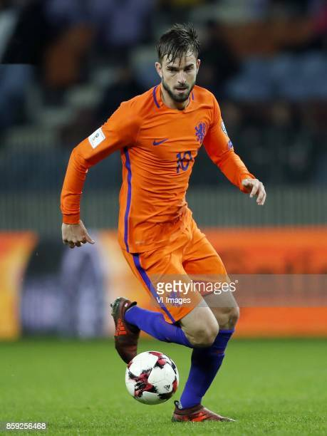 Davy Propper of Holland during the FIFA World Cup 2018 qualifying match between Belarus and Netherlands on October 07 2017 at Borisov Arena in...