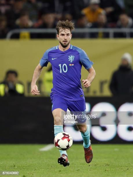 Davy Propper of Holland during the friendly match between Romania and The Netherlands on November 14 2017 at Arena National in Bucharest Romania