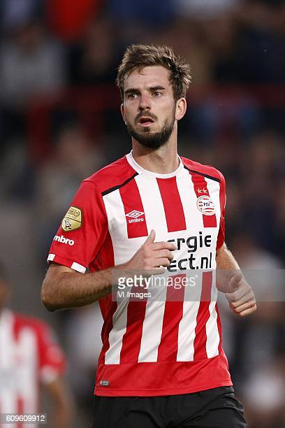 Davy Propper of PSV during the first round Dutch Cup match between PSV Eindhoven and Roda JC Kerkrade at the Phillips stadium on September 21 2016 in...