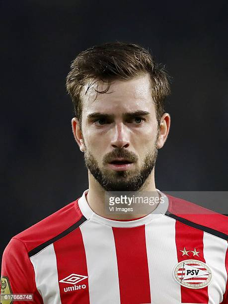 Davy Propper of PSVduring the Dutch Eredivisie match between PSV Eindhoven and Sparta Rotterdam at the Phillips stadium on October 22 2016 in...