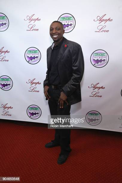 Dawan Nation attends Agape Love Red Carpet on January 13 2018 in Milwaukee Wisconsin