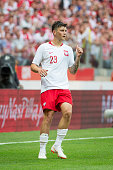 dawid kownacki p during international friendly